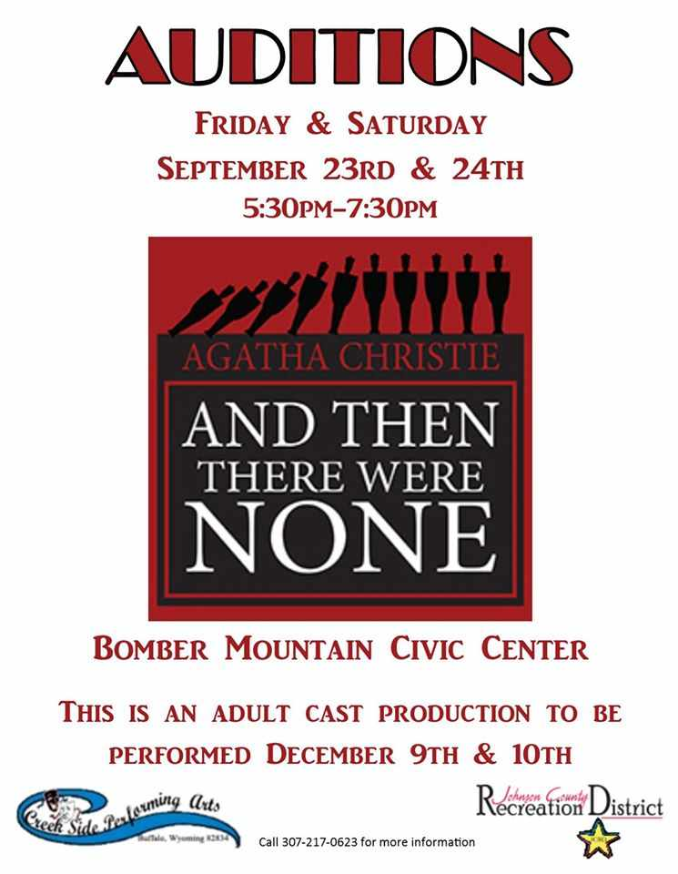 Creekside Performing Arts <br/>Auditions (past/2016)